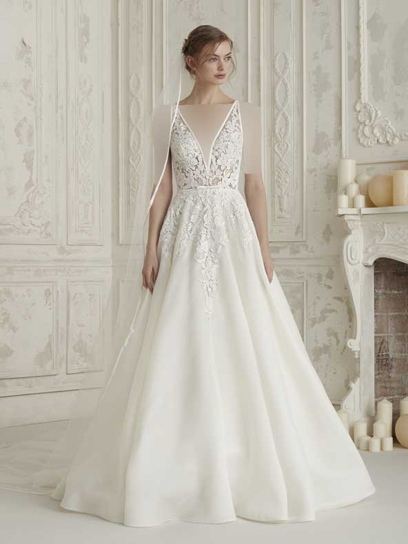 0451454514d1cce6caec9828a360b212 donoghte.com  - ۶۲ مدل لباس عروس جدید و شیک ۲۰۲۱ برای سورپرایز عروسهای لاکچری