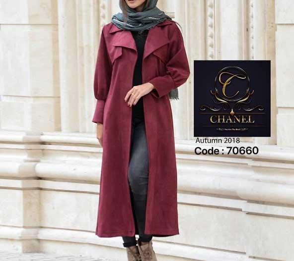 مدل مانتو اسپرت جلو باز دخترانه
