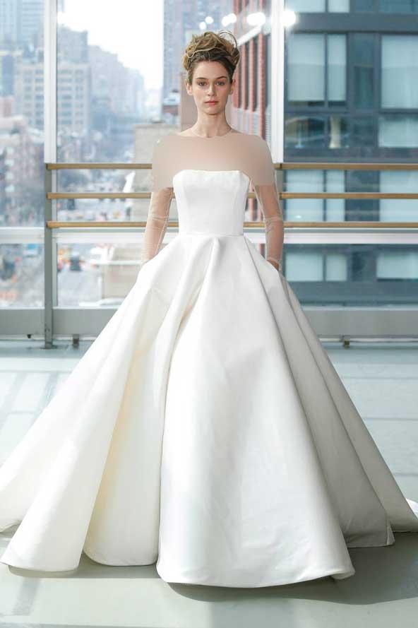 0e9dc1c5a7b18b4a8518f944c70f0895 donoghte.com  - ۶۲ مدل لباس عروس جدید و شیک ۲۰۲۱ برای سورپرایز عروسهای لاکچری