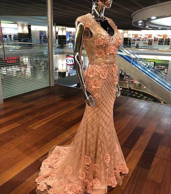 مدل لباس مجلسی بدون آستین 2019