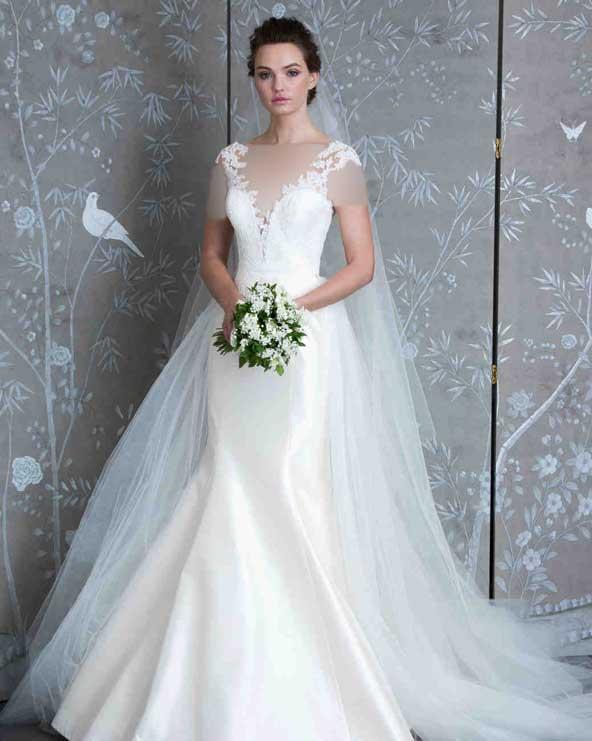 1e5339849c9dd17676a0f9ce51a7301d donoghte.com  - ۶۲ مدل لباس عروس جدید و شیک ۲۰۲۱ برای سورپرایز عروسهای لاکچری
