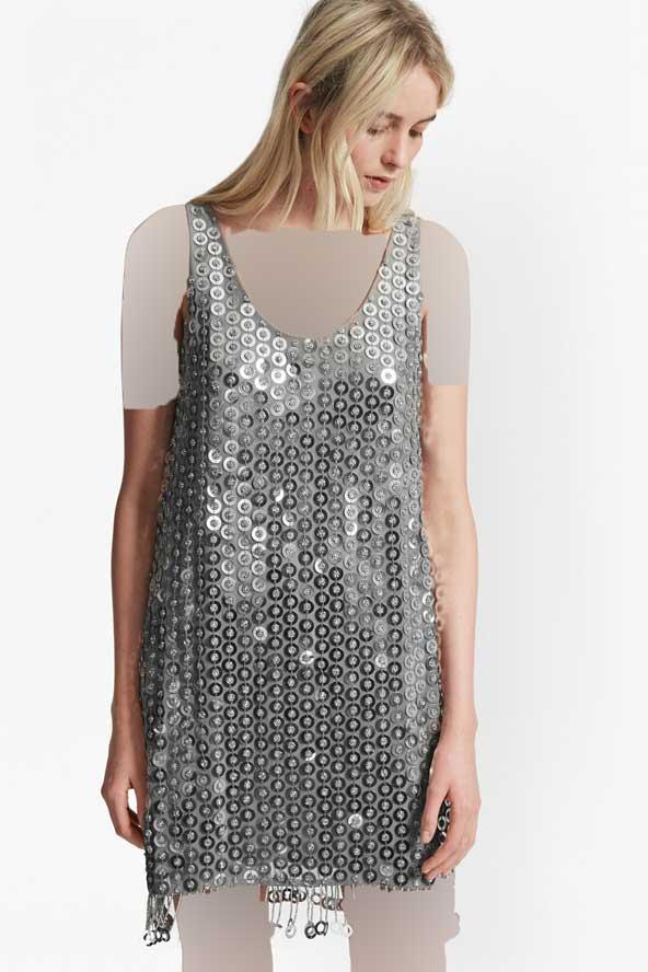 مدل لباس مجلسی 2019 لمه طرح دار