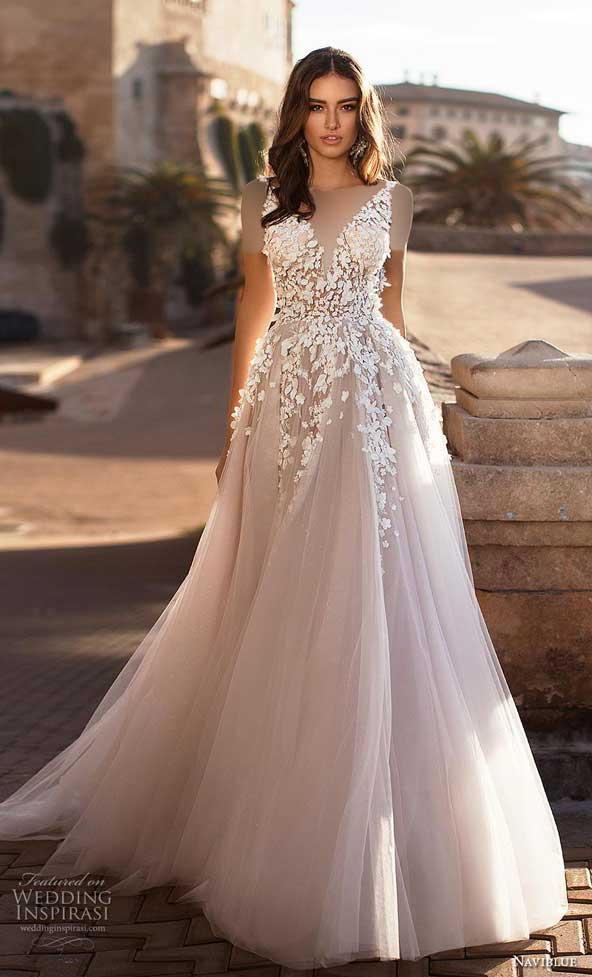 29c622b62a20c6fb8b2f6c72551ffd6f donoghte.com  - ۶۲ مدل لباس عروس جدید و شیک ۲۰۲۱ برای سورپرایز عروسهای لاکچری