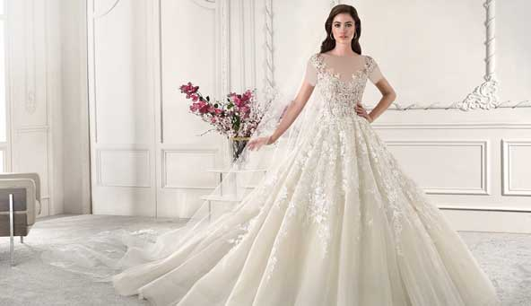 2c7708878bd11b14336d2bf497ce90c5 donoghte.com  - ۶۲ مدل لباس عروس جدید و شیک ۲۰۲۱ برای سورپرایز عروسهای لاکچری