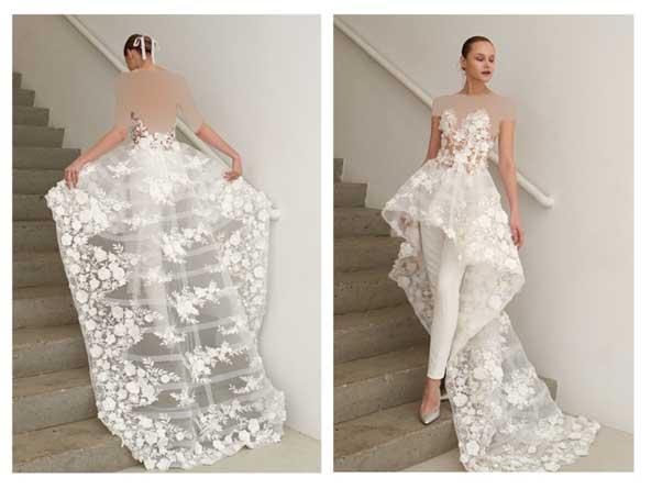 37e5aca914459a0edd984b2b83880b88 donoghte.com  - ۶۲ مدل لباس عروس جدید و شیک ۲۰۲۱ برای سورپرایز عروسهای لاکچری