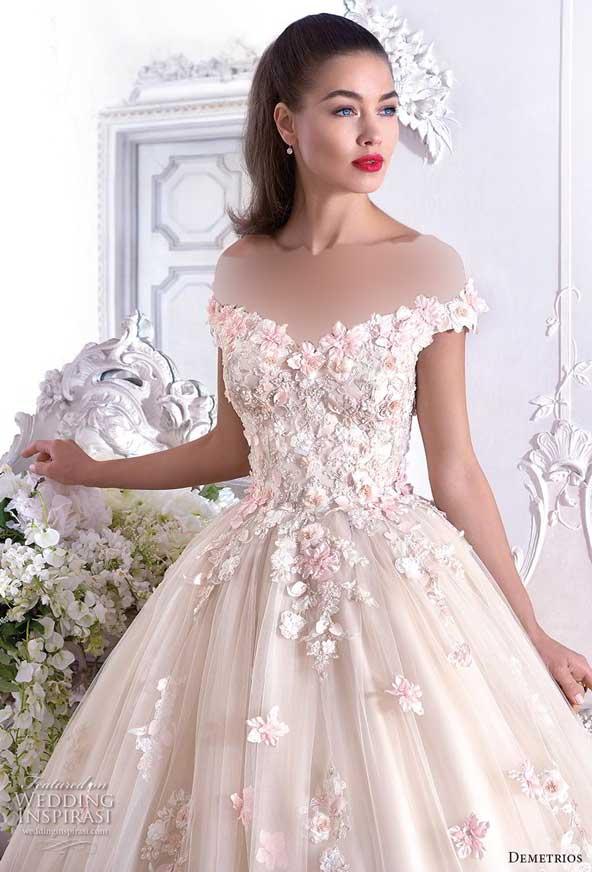 3b74a7a1bee02e6c830f1d2147c2be99 donoghte.com  - ۶۲ مدل لباس عروس جدید و شیک ۲۰۲۱ برای سورپرایز عروسهای لاکچری