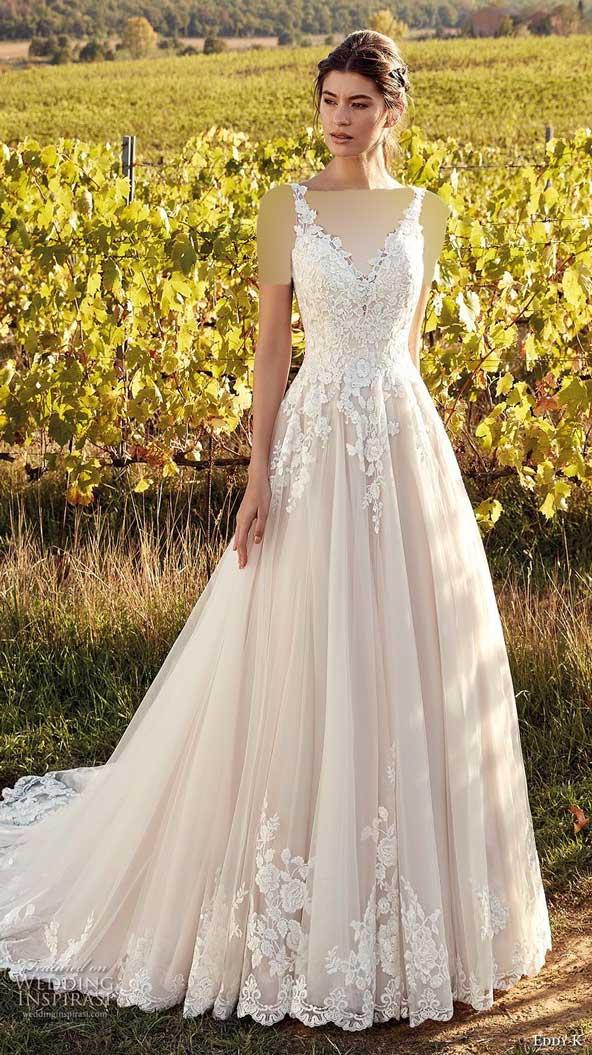 3cb7e347f518fe6fe9a603c4b1e33a87 donoghte.com  - ۶۲ مدل لباس عروس جدید و شیک ۲۰۲۱ برای سورپرایز عروسهای لاکچری