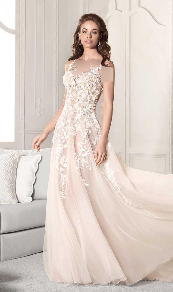 3e4f6511b5fb2d0d8cdf40f5f0820dd4 donoghte.com  - ۶۲ مدل لباس عروس جدید و شیک ۲۰۲۱ برای سورپرایز عروسهای لاکچری