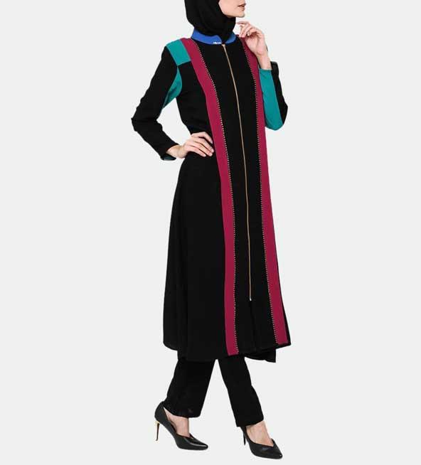 مدل مانتو 98 بلند زنانه سنتی