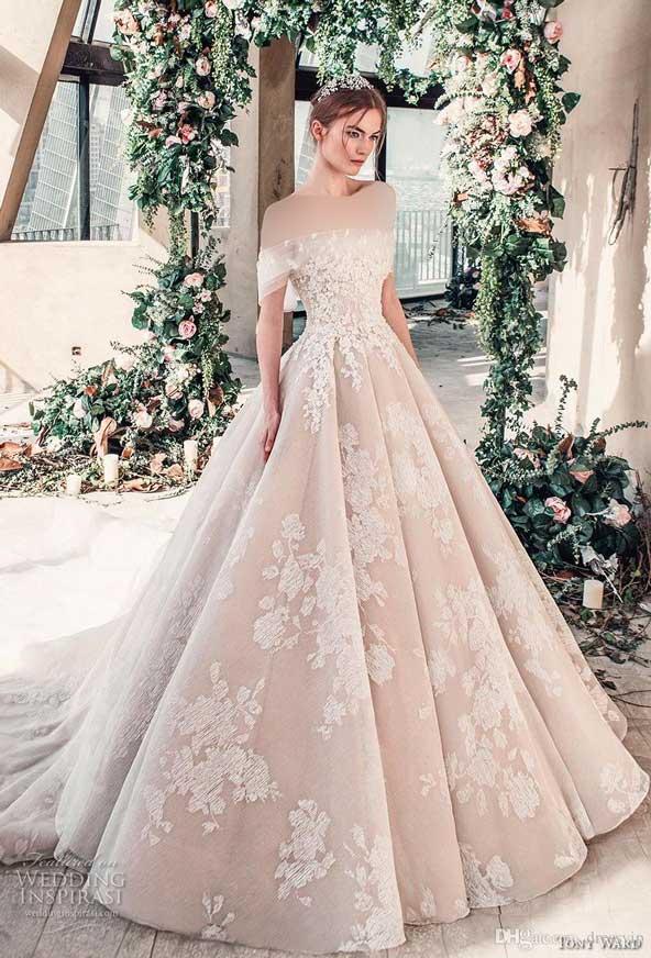 ۶۲ مدل لباس عروس جدید و شیک ۲۰۲۱ برای سورپرایز عروسهای لاکچری