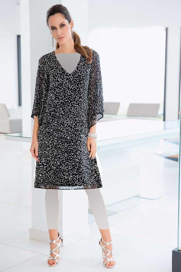 مدل لباس زنانه 98 با پارچه لمه