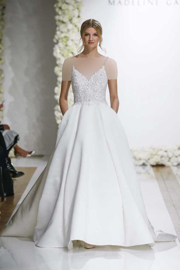 7c452c39edccef2430200391dc4b21db donoghte.com  - ۶۲ مدل لباس عروس جدید و شیک ۲۰۲۱ برای سورپرایز عروسهای لاکچری