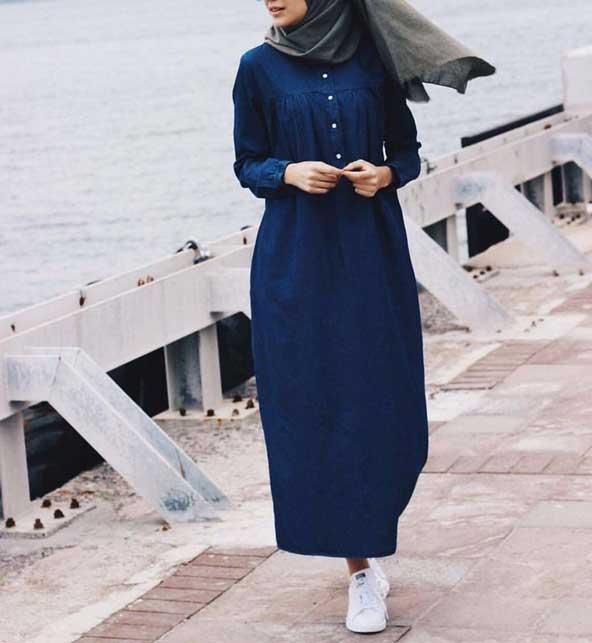 مدل مانتو عربی بلند حریر