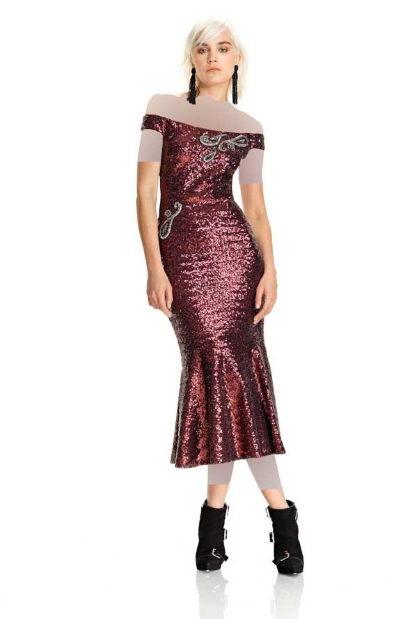 لباس شب لمه 2019