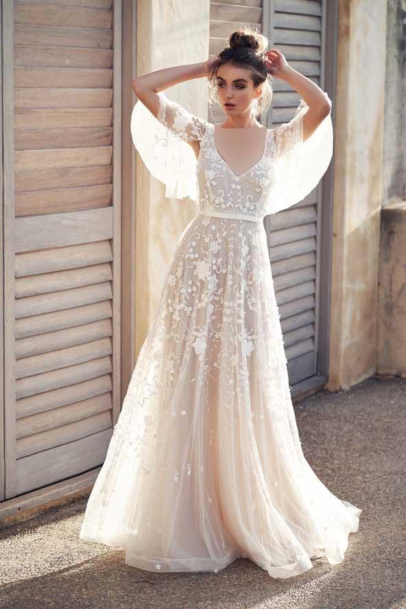 b0cb1e3dcdeb9469366e24a9b71ae7ea donoghte.com  - ۶۲ مدل لباس عروس جدید و شیک ۲۰۲۱ برای سورپرایز عروسهای لاکچری