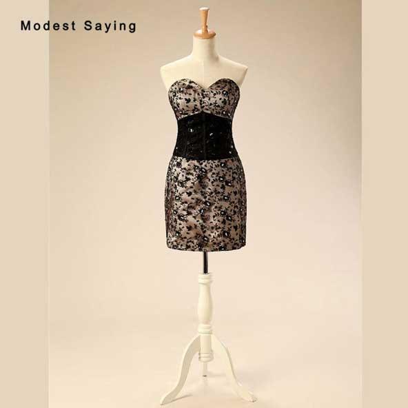 مدل لباس مجلسی کوتاه دکلته