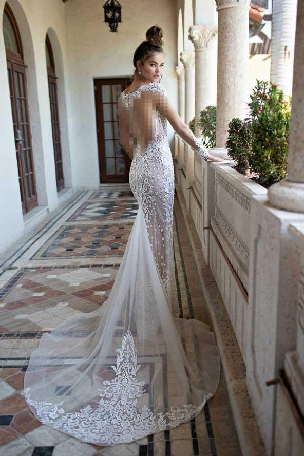 b29ce53c1eaf6e78abf4ade4bc4144f7 donoghte.com  - ۶۲ مدل لباس عروس جدید و شیک ۲۰۲۱ برای سورپرایز عروسهای لاکچری