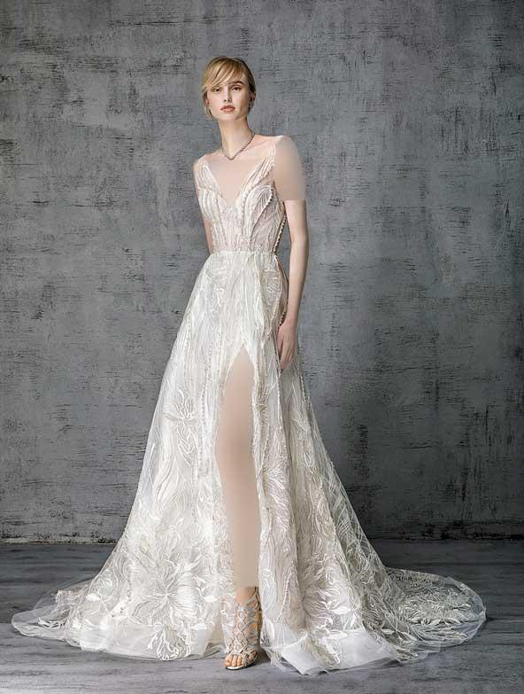 b8ab3a81f44a37e8577351f890174806 donoghte.com  - ۶۲ مدل لباس عروس جدید و شیک ۲۰۲۱ برای سورپرایز عروسهای لاکچری