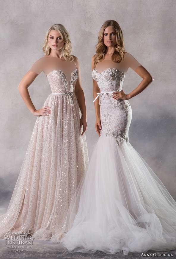 c6928fac5c90fa18f7040033702c008d donoghte.com  - ۶۲ مدل لباس عروس جدید و شیک ۲۰۲۱ برای سورپرایز عروسهای لاکچری