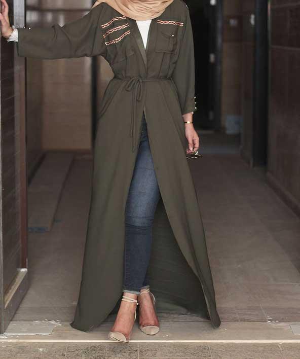 مدل مانتو بلند اسپرت 2019