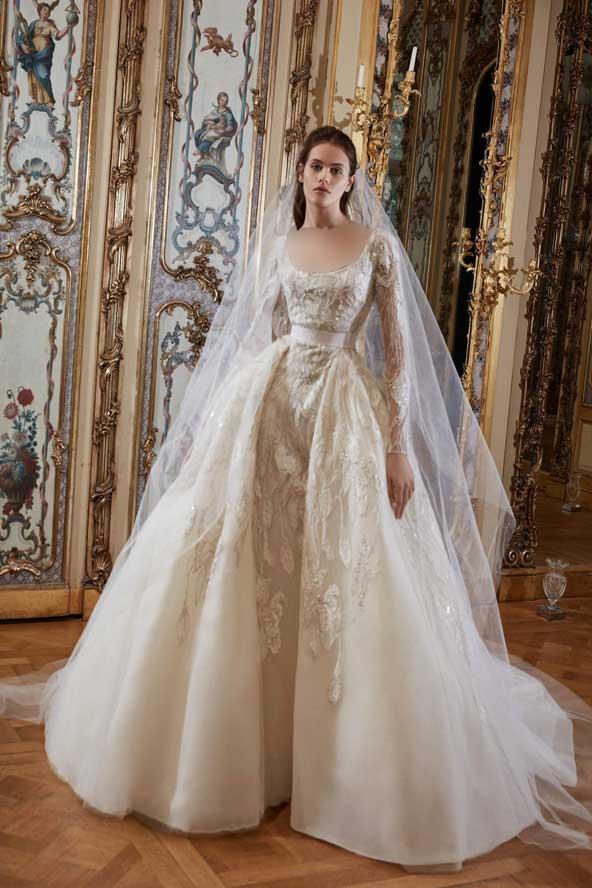 c96efef76ec4a816ac21ca937ff6d250 donoghte.com  - ۶۲ مدل لباس عروس جدید و شیک ۲۰۲۱ برای سورپرایز عروسهای لاکچری