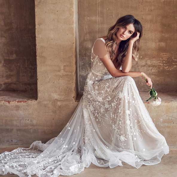 d9f10bba2824f8109f277fc3cde59b48 donoghte.com  - ۶۲ مدل لباس عروس جدید و شیک ۲۰۲۱ برای سورپرایز عروسهای لاکچری