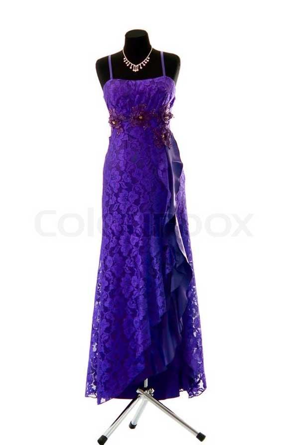 لباس مجلسی دخترانه چاکدار