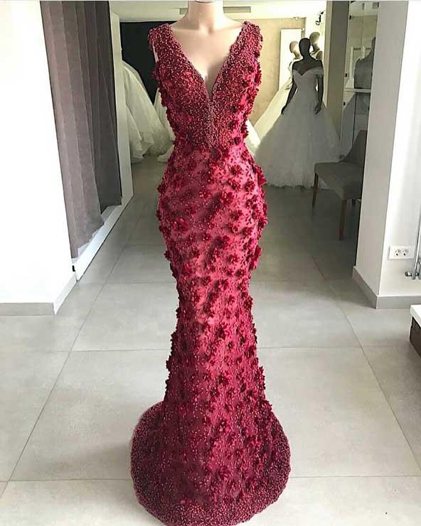 جدیدترین مدل لباس مجلسی بلند جلو باز
