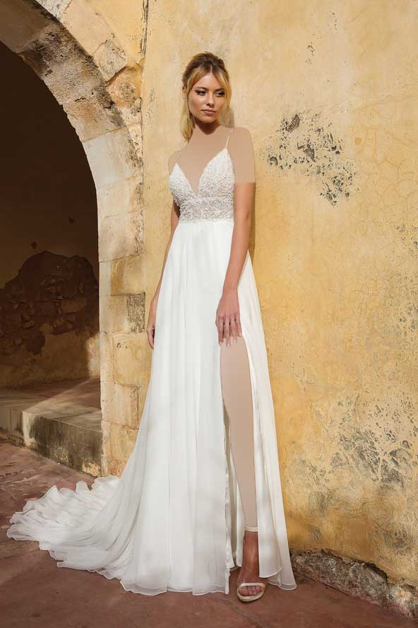 e185392d5d22053be986c2607411943d donoghte.com  - ۶۲ مدل لباس عروس جدید و شیک ۲۰۲۱ برای سورپرایز عروسهای لاکچری