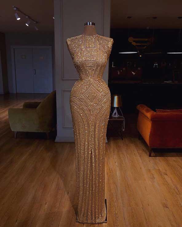 مدل لباس مجلسی 98بدون آستین