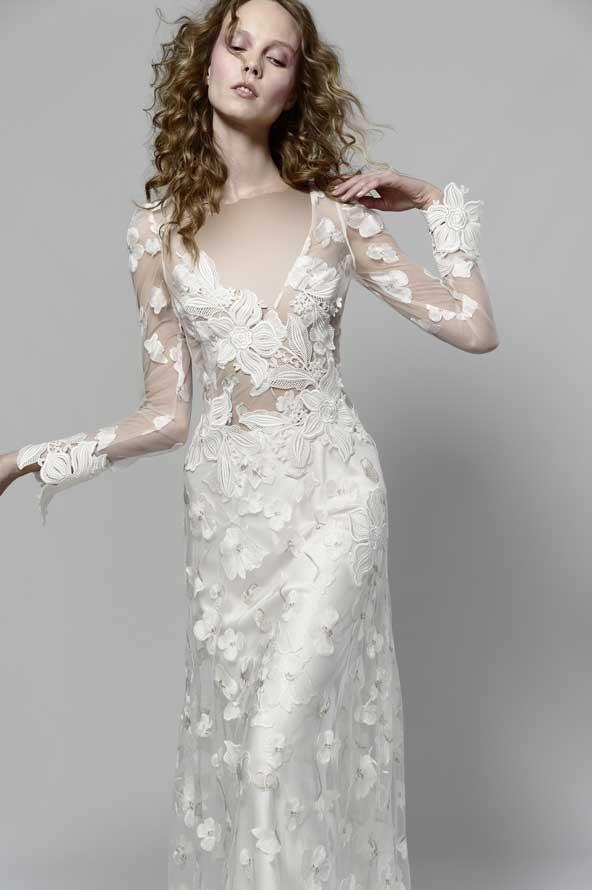 e7ae83a43dcf208e340fed15440b8923 donoghte.com  - ۶۲ مدل لباس عروس جدید و شیک ۲۰۲۱ برای سورپرایز عروسهای لاکچری