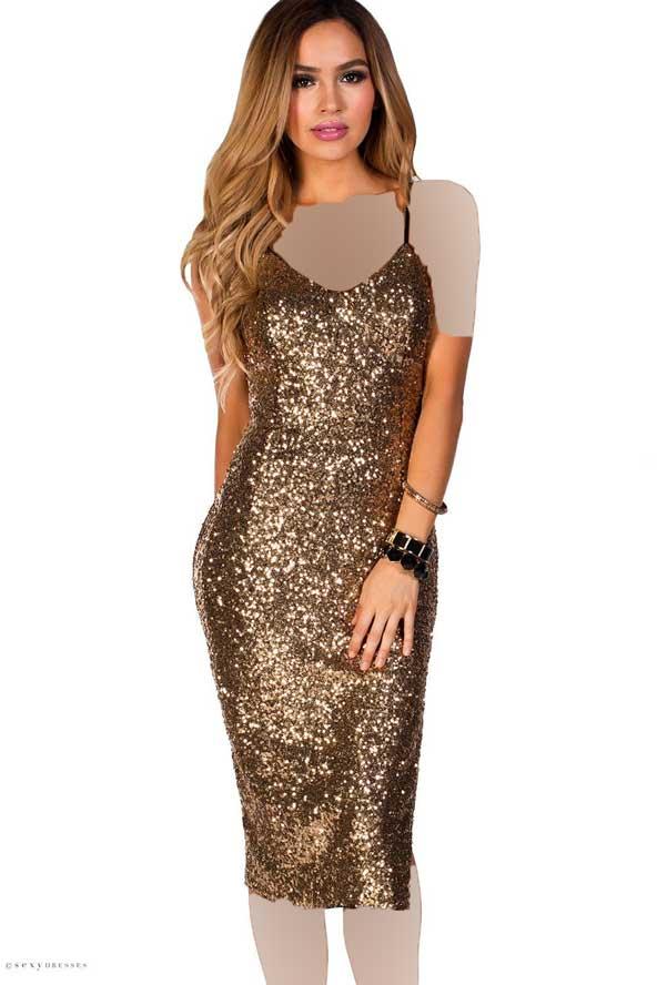 مدل لباس لمه شنی طلایی