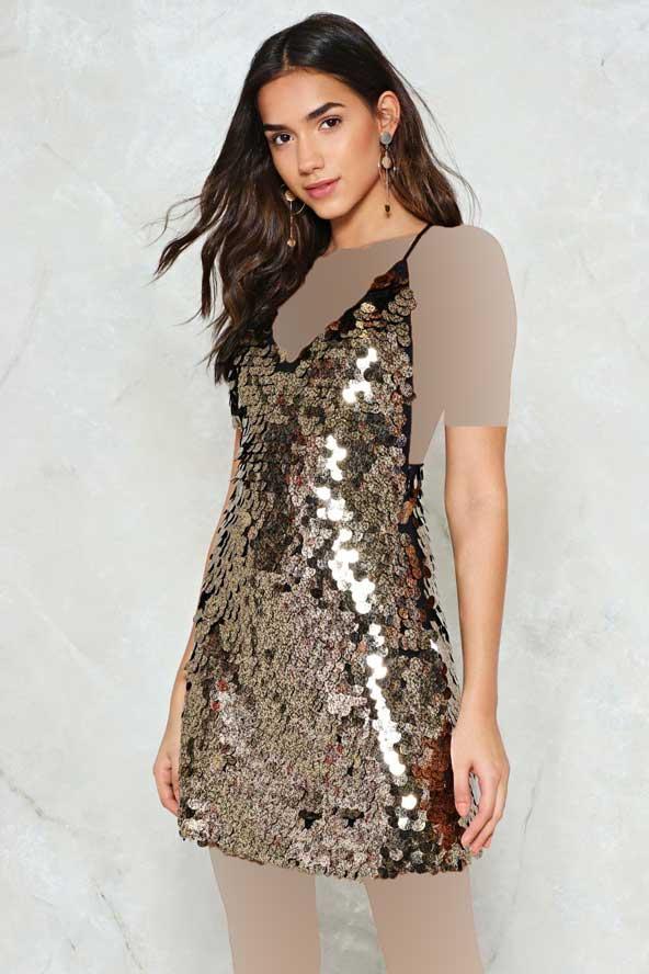 مدل جدید لباس لمه طلایی