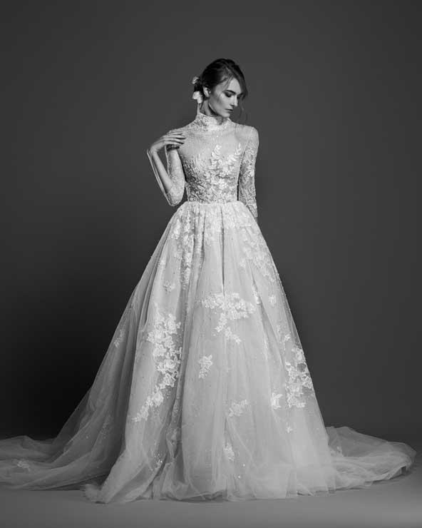 f66f2b1c6ed44eaf5389d39b514525c2 donoghte.com  - ۶۲ مدل لباس عروس جدید و شیک ۲۰۲۱ برای سورپرایز عروسهای لاکچری