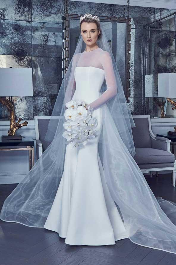 fafa88cb699953e9975533accf592034 donoghte.com  - ۶۲ مدل لباس عروس جدید و شیک ۲۰۲۱ برای سورپرایز عروسهای لاکچری