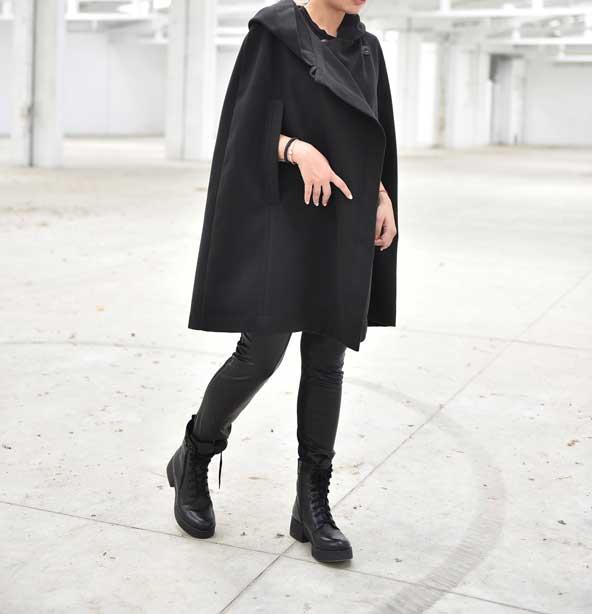 شنل نیم تنه زمستانی زنانه جدید
