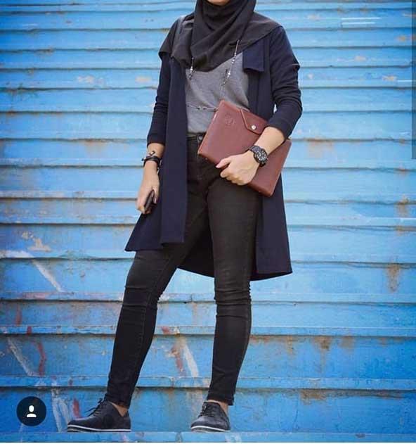مدل مانتو دانشجویی جلوباز 2019