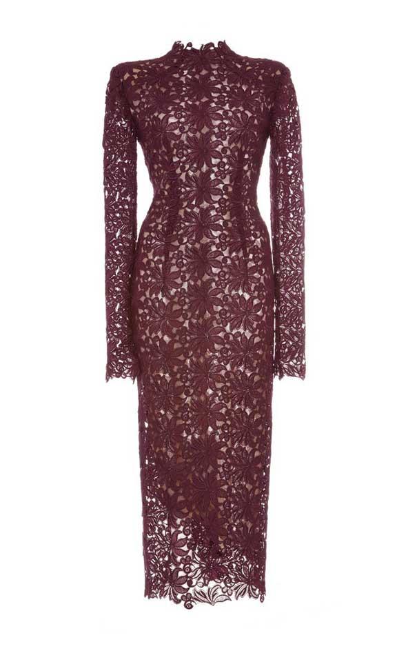 مدل جدید لباس مجلسی گیپور خشک