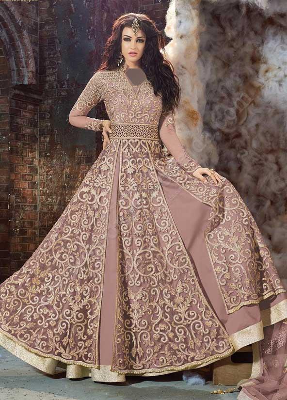 مدل لباس مجلسی گیپور حاشیه دار 2019