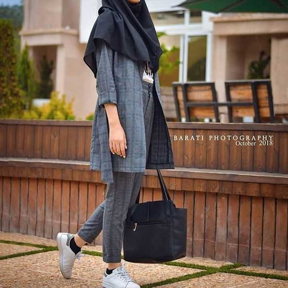 مدل مانتو دانشجویی ایرانی جدید