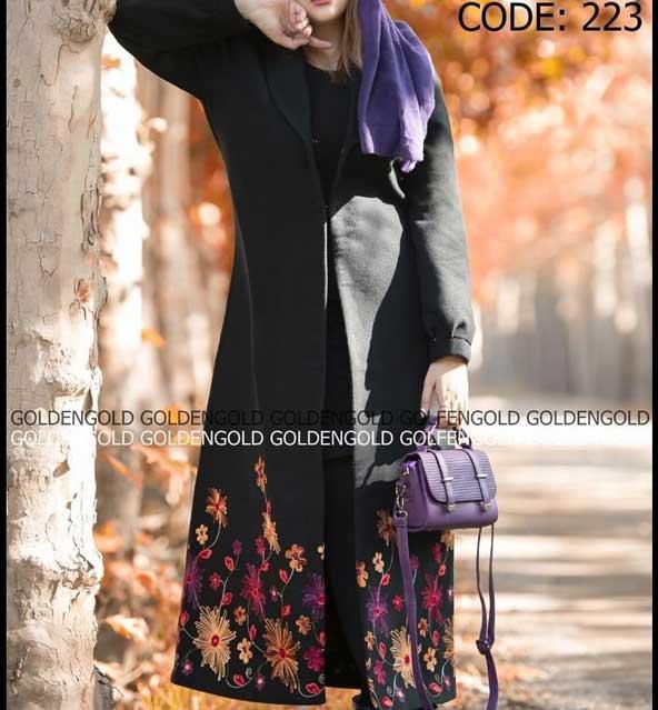 مدل مانتو بلند زنانه شیک 98