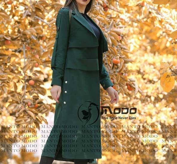 جدیدترین مانتو بلند شیک ایرانی