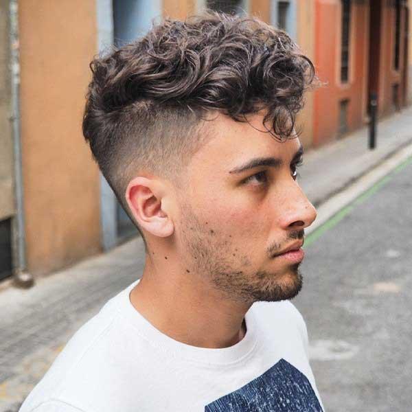 مدل موهای جدید فر مردانه
