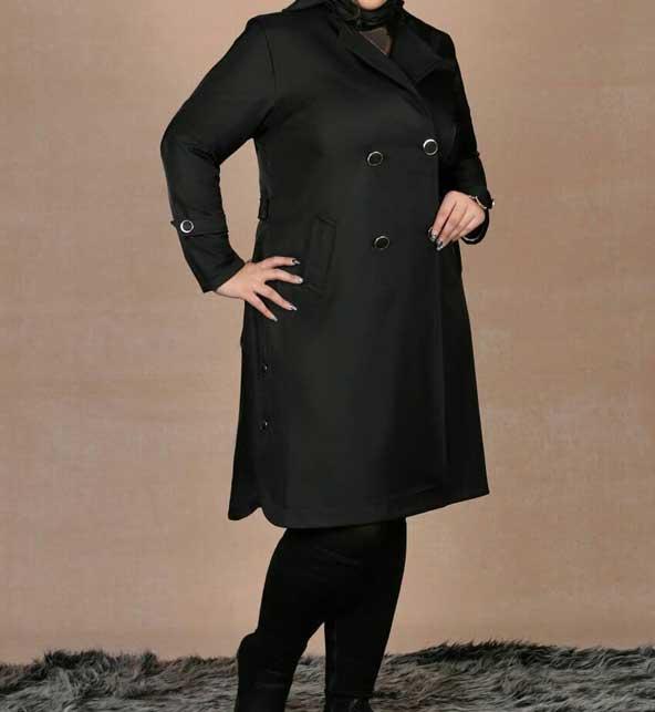 جدیدترین مدل پالتو زنانه چاق