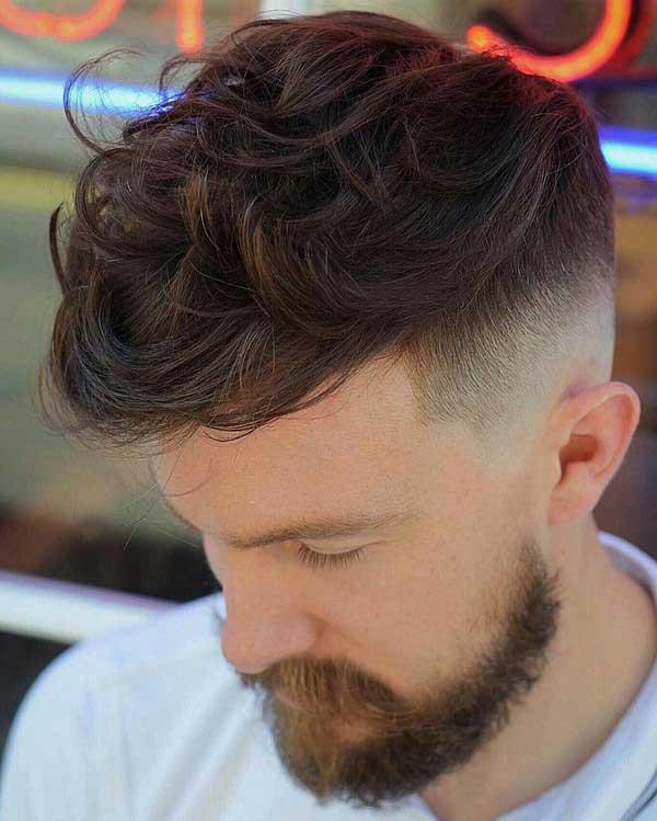مدل جدید موی مردانه با ریش