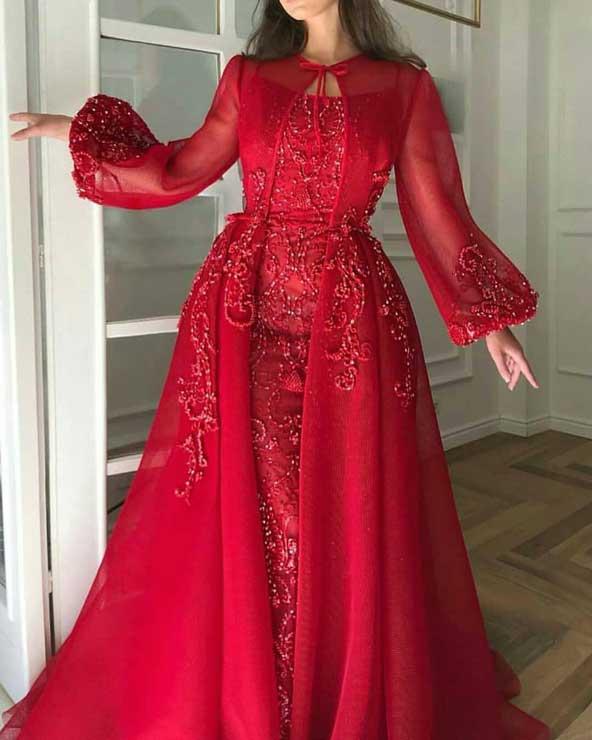 مدل لباس مجلسی اروپایی 2019