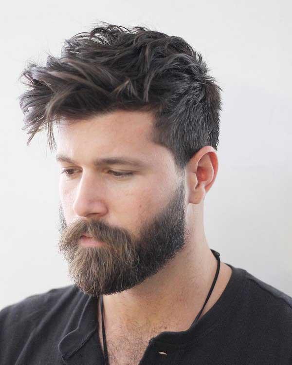مدل مو و ریش جدید مردانه