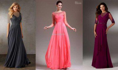 مدل لباس مجلسی حریر 2019