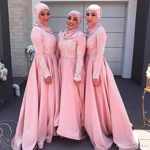 مدل لباس پوشیده مجلسی 2019 برای ساقدوش
