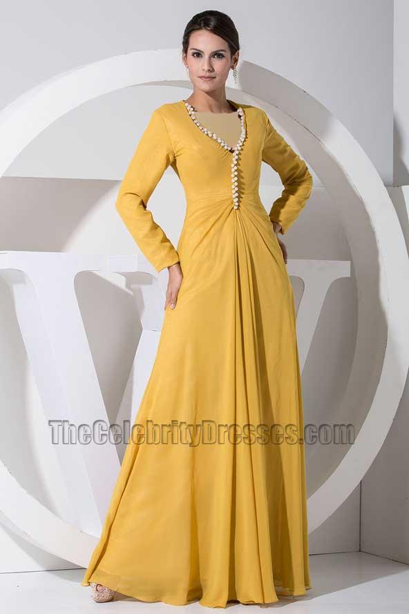 مدل لباس مجلسی ساده استین دار 2019